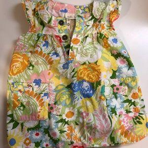 Matilda Jane Floral Tunic Top, size 18-24 mos
